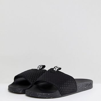 Slydes Cruz Logo Slider Flip Flops at asos.com