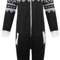 Mens Womens Unisex One Direction Rihanna Aztec Camouflage Hooded Onesuit Jumpsuit - ROYAL - UK 16 (XXL) - (80% Cotton 20 % Polyester)