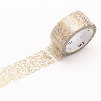 mt fab Washi Tape Single Gold Particle