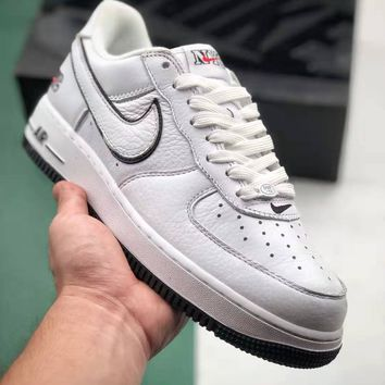 NIKE AIR FORCE 1 MID 07 Men Women Fashion Tide brand simple version Sneakers Sport Shoes Size 36-45