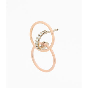 Charlotte Chesnais Galilea Earrings - Rose Gold Earrings