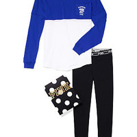University of Kentucky Pocket Varsity Crew and Leggings Gift Set - PINK - Victoria's Secret
