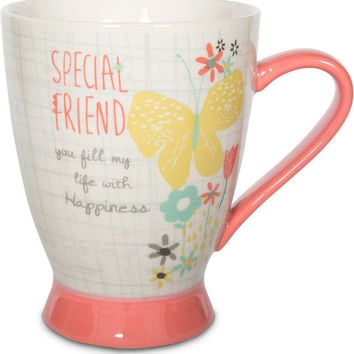 Special Friend you fill my life with Happiness Mug