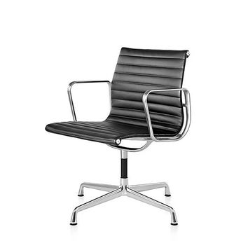 Herman Miller Eames® Aluminum Group Side Chair - With Arms