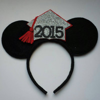 GRADUATION Minnie Mouse inspired ears