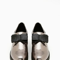 Shoe Cult Blitz Oxford - Gunmetal
