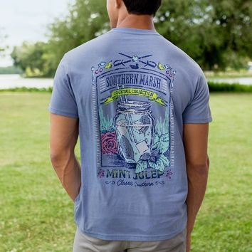 Cocktail Collection Mint Julep Tee Shirt by Southern Marsh