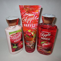 Bath & Body Works Suncrisp Apple Harvest Bagged Gift Set