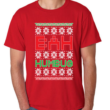 Bah Humbug christmas Mens T-shirt