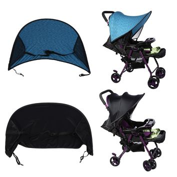 2 Colors Baby Stroller Sunshade Buggy Infant Car Seat Canopy Flexible Lycra Sun Blocking Cover