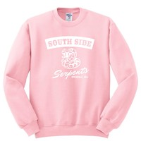 "Riverdale ""South Side Serpents"" Crewneck Sweatshirt"