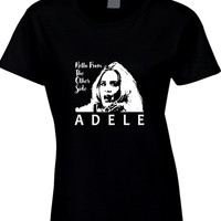 Adele Hello From The Other Side Illustrations Arf Womens T Shirt