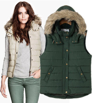 Winter Cotton Vest Jacket [9584885770]