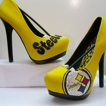 STEELERS HEELS All Sizes by KUSTOMKICKZ on Etsy