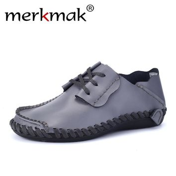 Genuine Leather Boat Shoes for Men
