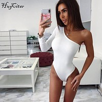 Sexy Single Sleeve Body Suit
