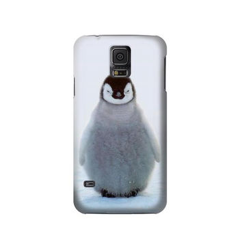 P1075 Penguin Ice Phone Case For Samsung Galaxy S5