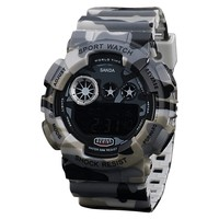 Camouflage Outdoor Military Watch