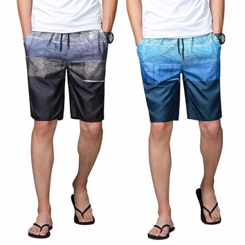 Quick dry men's brief swim trunks surf board shorts male summer sport swimming boxer shorts swimwear beach wear plus size L-4XL