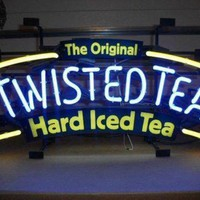 Twisted Tea The Original Hard Iced Tea Neon Sign Real Neon Light