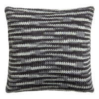 H&M - Knit Cushion Cover - Gray