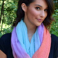 Ombre Scarf - Ocean Sunset
