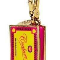 Juicy Couture - Limited Edition 2012 - Candy Box - Gold Plated Charm