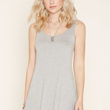Scoop Back Mini Dress