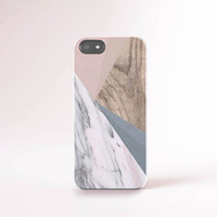 Marble iPhone 6 Case Marble PRINT iPhone 6s Case Geometric Cases Samsung S6 Case Wood Samsung S6 Case Pink iPhone Case Gorgeous iPhone Case