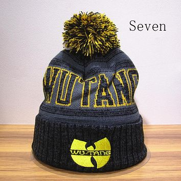 Perfect Wu-Tang Clan Hiphop Women Men Beanies Winter Knit Hat Cap