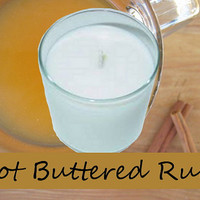 Hot Buttered Rum Scented Candle in Tumbler 13 oz