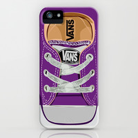 Cute Purple Vans all star baby shoes apple iPhone 4 4s, 5 5s 5c, iPod & samsung galaxy s4 case