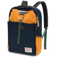 Master-Piece Link Backpack Navy & Yellow