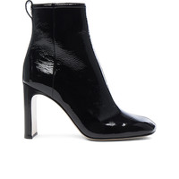 Rag & Bone Patent Leather Ellis Boot in Black | FWRD