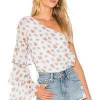 Lovers + Friends x REVOLVE Ivy Top in Ditsy Floral | REVOLVE