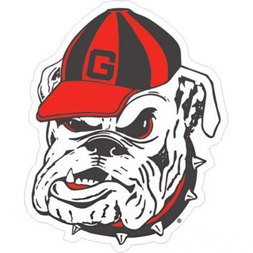 Georgia Bulldogs NCAA 12 Inch Car Magnet