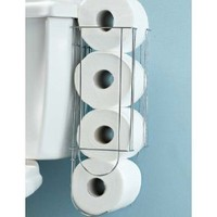 Side of Tank Toilet Paper Holder