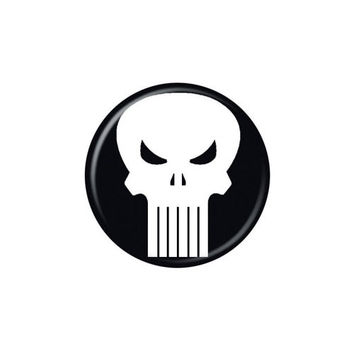 Punisher Logo Button