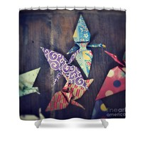 Ready to soar Shower Curtain for Sale by Ivy Ho