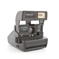 Polaroid OneStep closeup - film tested and Working vintage 80s Polaroid 600 film