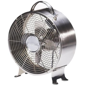 Stainless Retro Metal Table Fan
