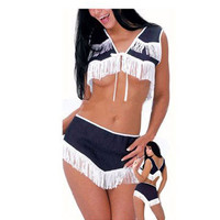 Sexy Rodeo Girl Costume