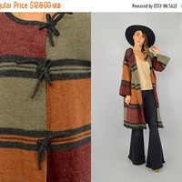 SALE 70's Bell Sleeve 'Kimlon' Duster