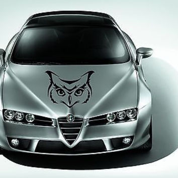 Car Hood Vinyl Decal Graphics Stickers Animal Predator Owl AB971