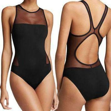 Hollow Mesh One Piece