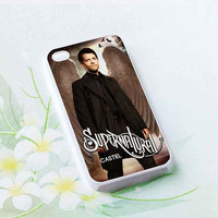 Castiel Misha Collins Supernatural  customized for iphone 4/4s/5/5s/5c, samsung galaxy s3/s4/s5 and ipod 4/5 cases