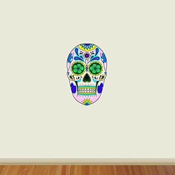 Sugar Skull Wall Art Murals Day of the Dead Wall Art Dia De Los Muertos