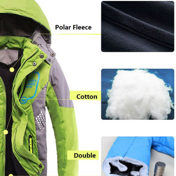 Sizes: 3T - 14/ Double Deck- Polar- Waterproof- Windproof/ Boy's or Girl's Winter Jackets
