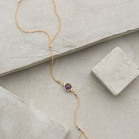 Amethyst Hand Chain by Eriness Purple One Size Jewelry