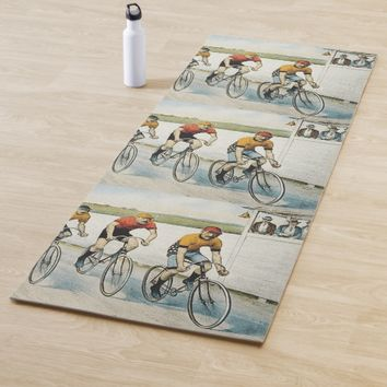 TOP Cycling Old School Yoga Mat